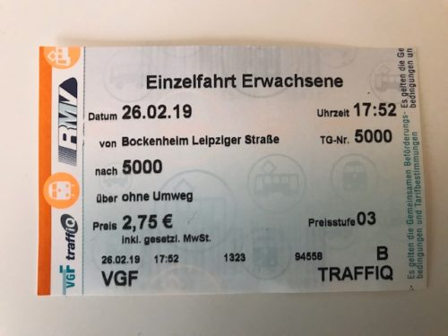 ドイツ チケット