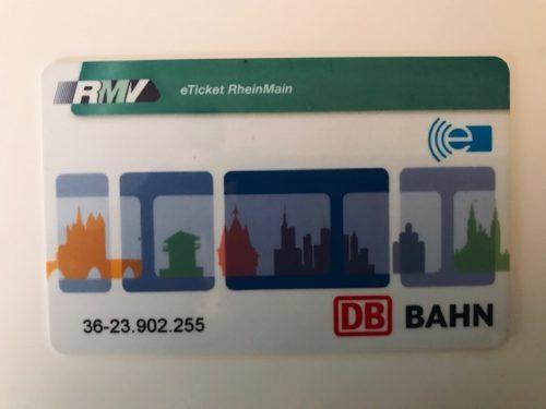 ドイツ 切符