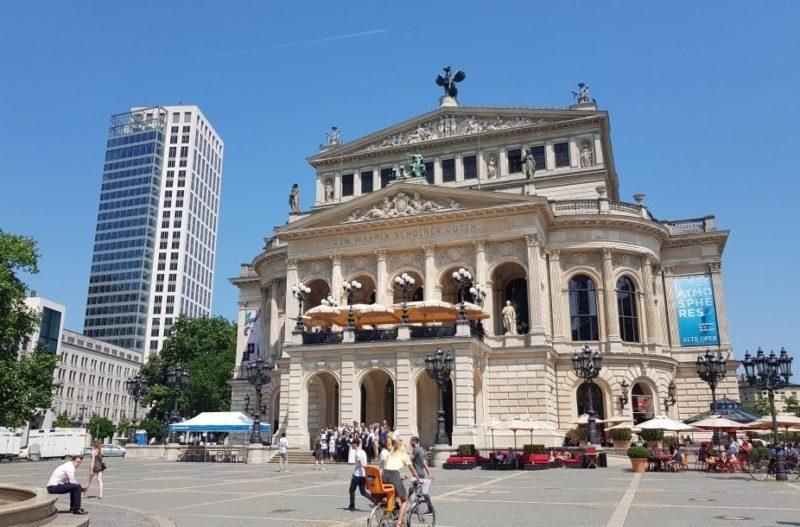 旧オペラ座 フランクフルト