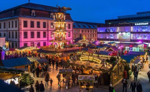 フルダ クリスマスマーケット Fulda
