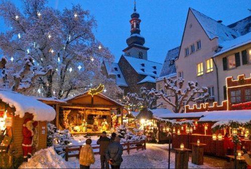 リューデスハイム クリスマスマーケット Rüdesheim