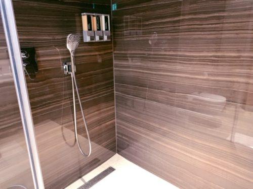 エアカナダ フランクフルト シャワールーム